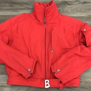 Bogner Womens Ski Jacket Red Full Zip